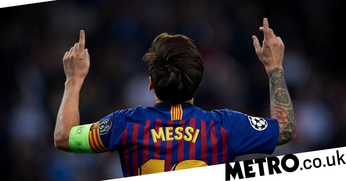 d0cace243 Tottenham news  The Spurs player Lionel Messi gave his shirt to after  Barcelona win