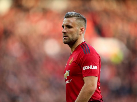 Jose Mourinho gave Manchester United stars a 'kick up the a***' at half-time, says Luke Shaw