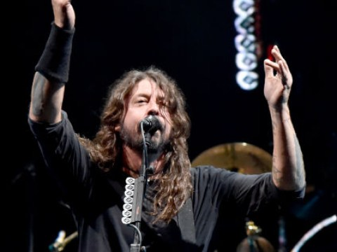 Dave Grohl gifts 10-year-old his guitar as pair cover Metallica's Enter Sandman on stage