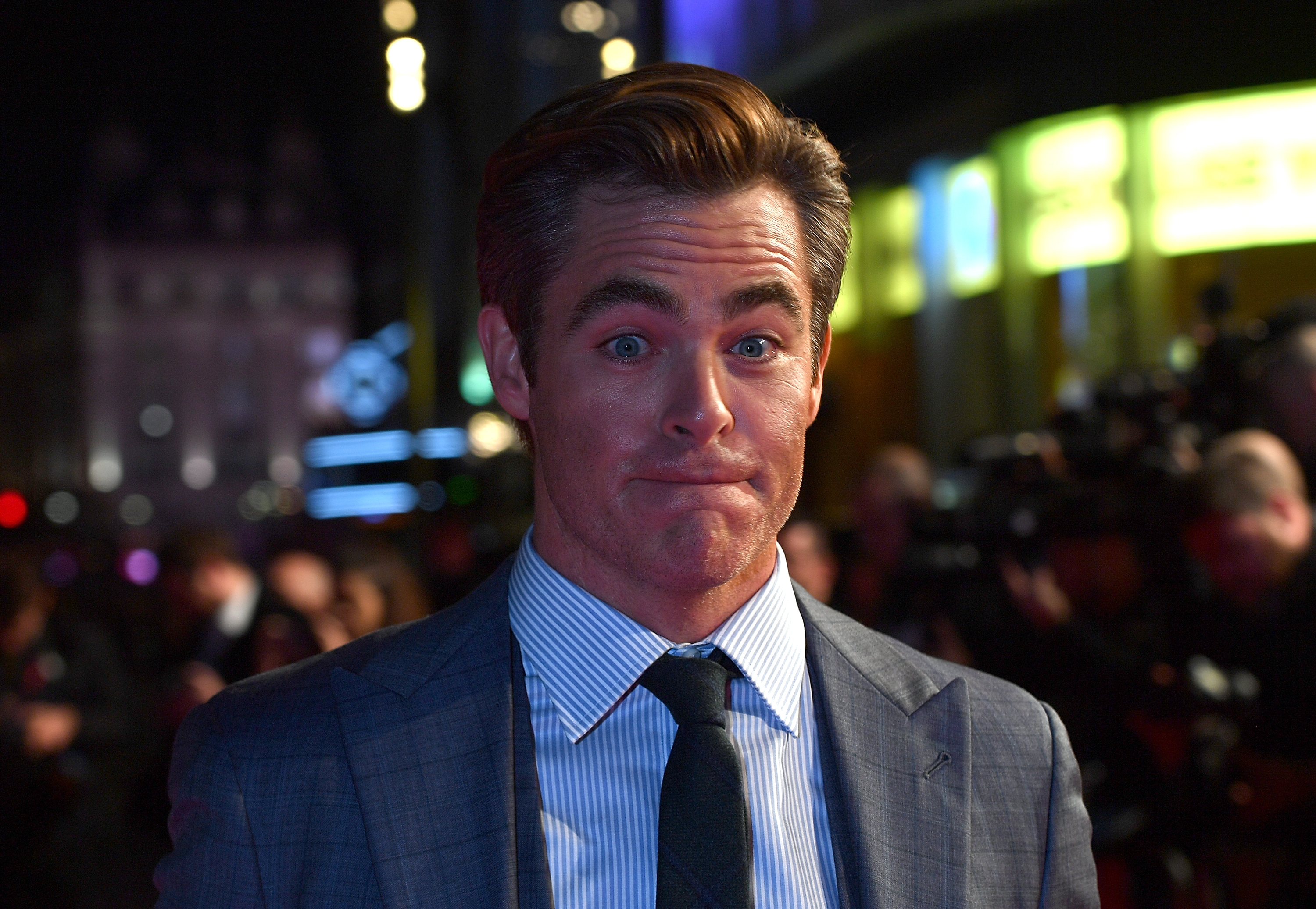 The fuss over Chris Pine getting his penis out on screen is 'ridiculous', says Outlaw King director