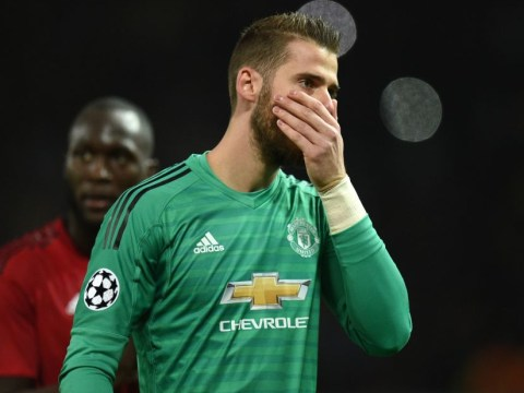 Jose Mourinho admits he's 'not confident' over new David de Gea contract
