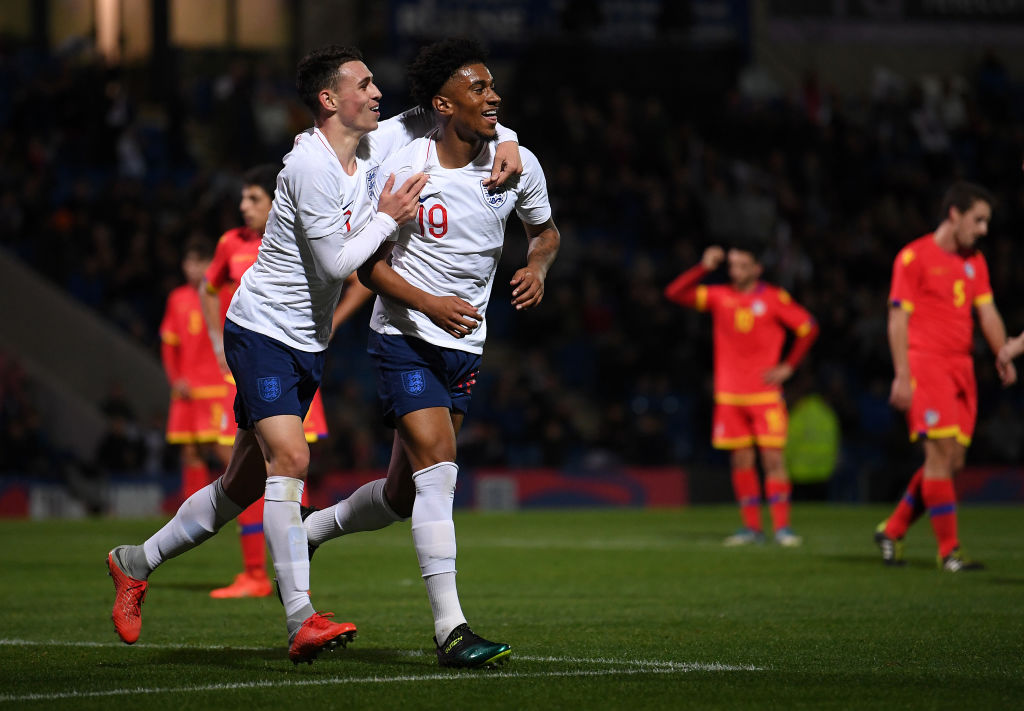 Reiss Nelson drops surprise hint over Arsenal return after scoring on England Under-21 debut
