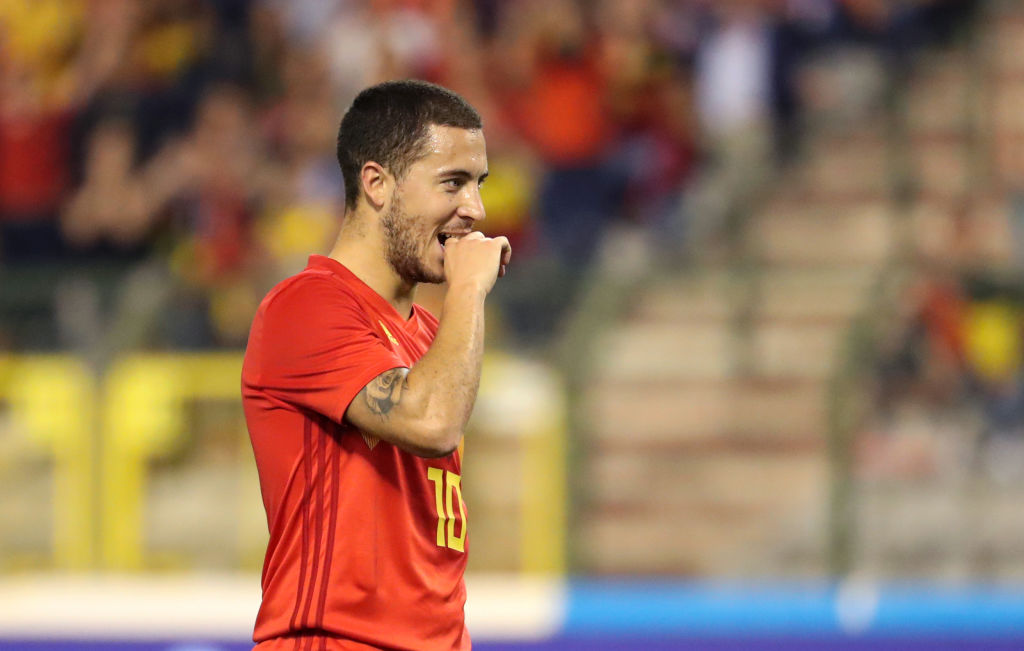 Maurizio Sarri urges Eden Hazard to stay at Chelsea and 'win everything'