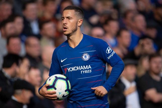 3133e1aa3b7 Chelsea news: Eden Hazard receives treatment ahead of Burnley clash ...