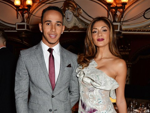 When did Nicole Scherzinger and Lewis Hamilton split and what is the leaked video of?