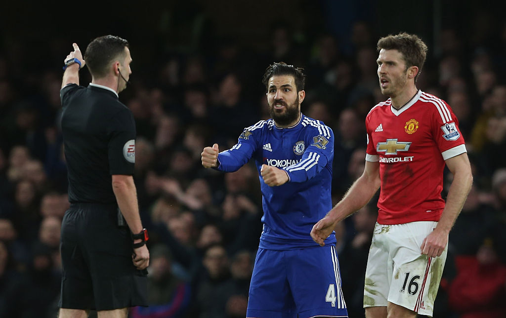Michael Carrick reveals how Cesc Fabregas prevented him from joining Arsenal