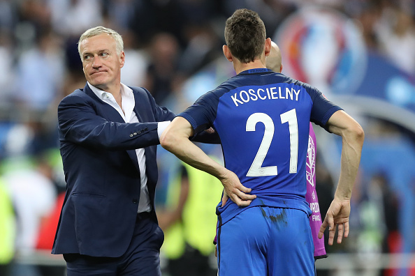 Didier Deschamps hits back at Laurent Koscielny after Arsenal ace blasted France coach for 'forgetting' about him