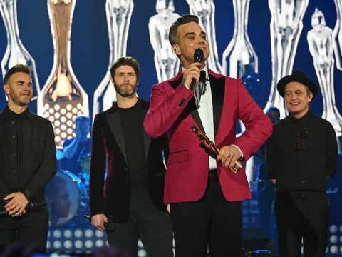 Take That and Robbie Williams to 'give fans a performance they'll Never Forget on X Factor'