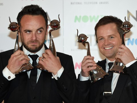 Ant & Dec lead the National Television Awards 2019 nominations longlist despite Ant's absence from screens