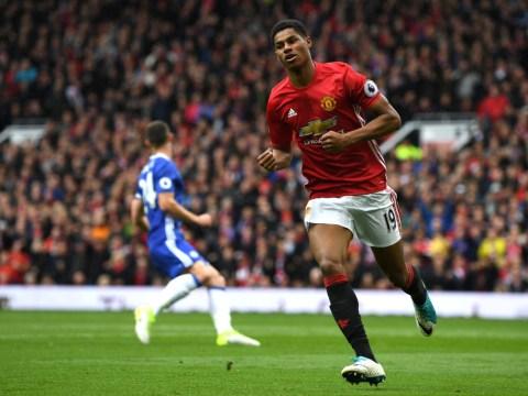 Rio Ferdinand sets Manchester United forward Marcus Rashford a challenge ahead of Chelsea clash