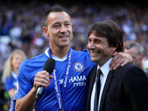 Antonio Conte and Diego Costa send messages to John Terry after Chelsea legend retires