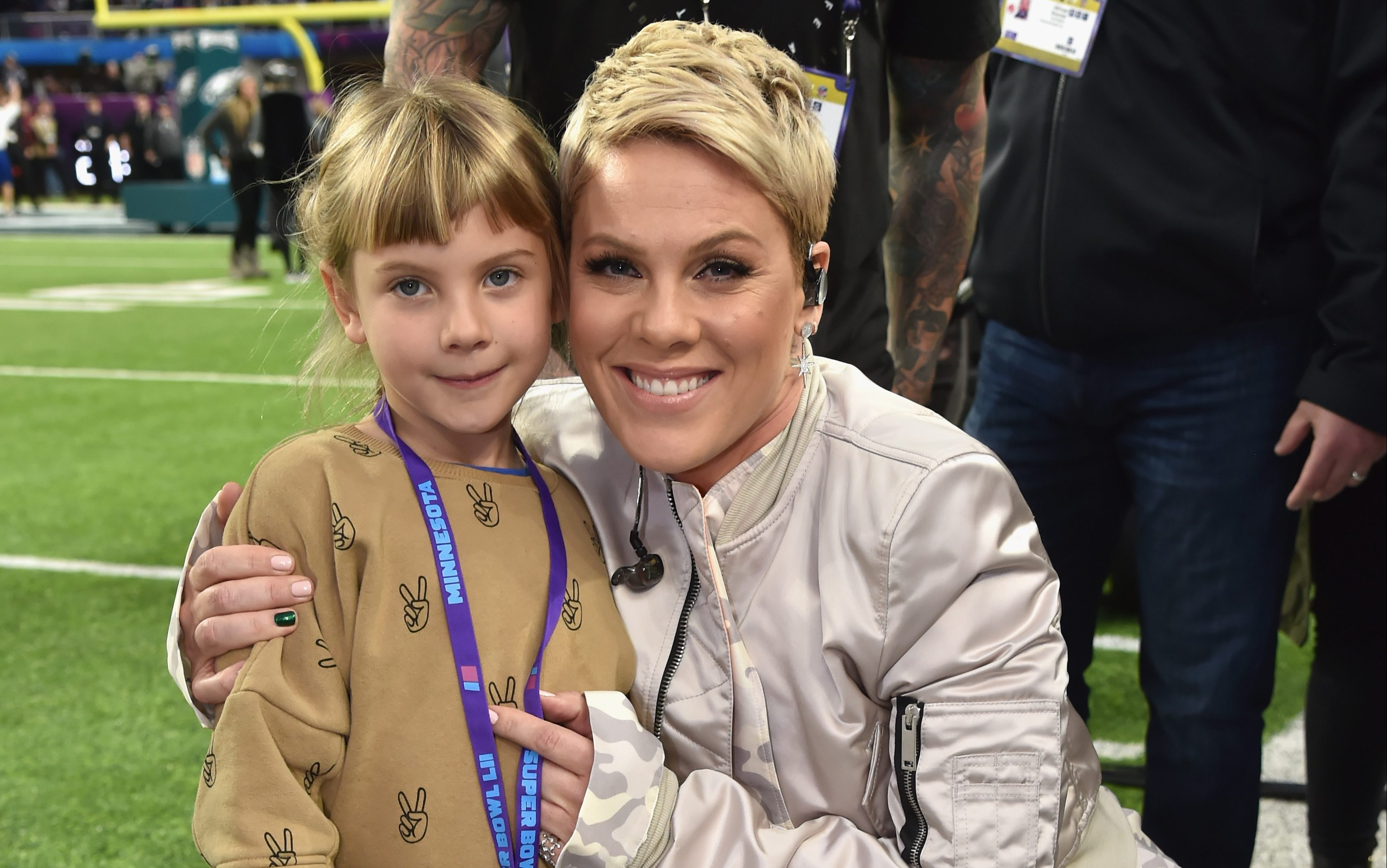Pink's daughter Willow, 7, can sing better than all of us