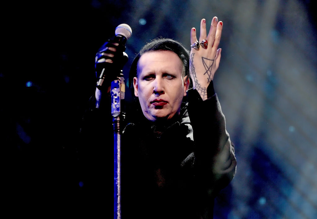 Marilyn Manson is selling a sex toy with his own face on it, FYI