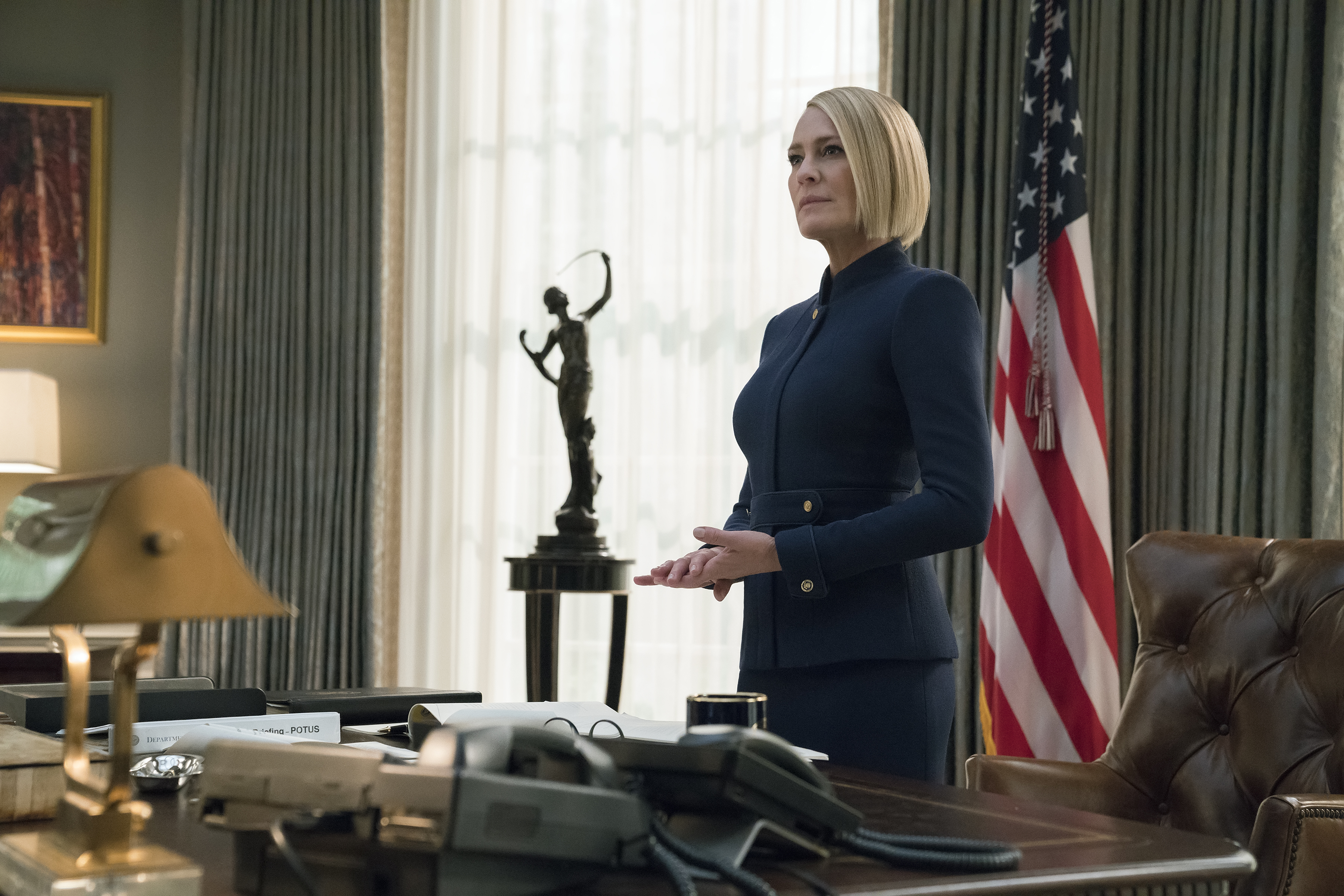 Robin Wright 'becomes worst thing to happen to US' in House of Cards' final season trailer