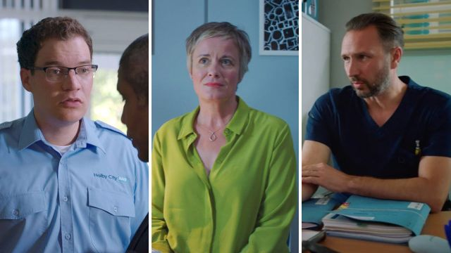 7 Holby City spoilers: Fletch declares his feelings for Jac, Dominic wants a baby and more