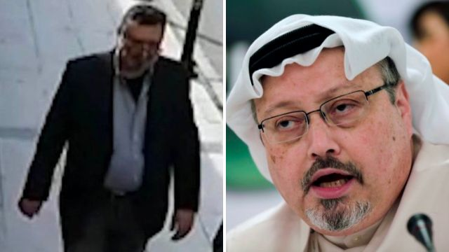 Saudi body double 'wore murdered journalist's clothes and a fake beard' in CCTV