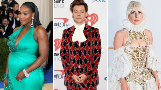 Serena Williams, Harry Styles, Lady Gaga