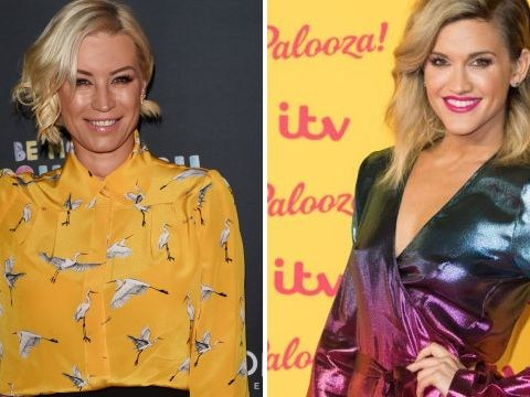 Denise Van Outen defends Ashley Roberts' dancing ability as she urges Strictly viewers to get over kiss scandal