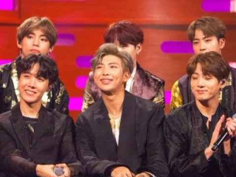 BTS given shirt off Whoopi Goldberg's back as she praises band for 'bringing joy'