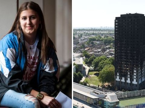 Girl haunted by screams of Grenfell Tower reveals how she blocked out sounds