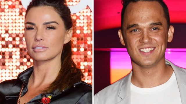 Katie Price 'sends flirty texts to former flame Gareth Gates' after his split from Faye Brookes