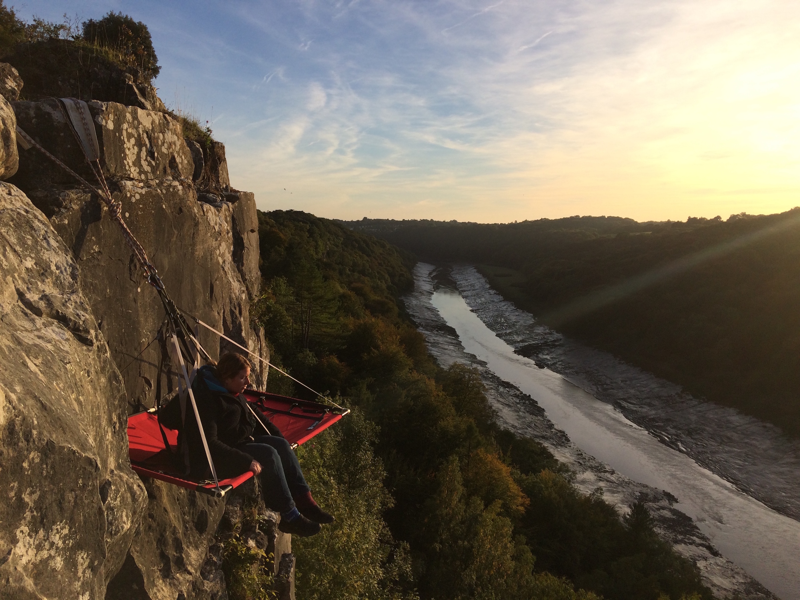 Cliff camping – the ideal Christmas gift for an adrenaline junkie or the height of eccentricity? I slept on a ledge 10 storeys up to find out