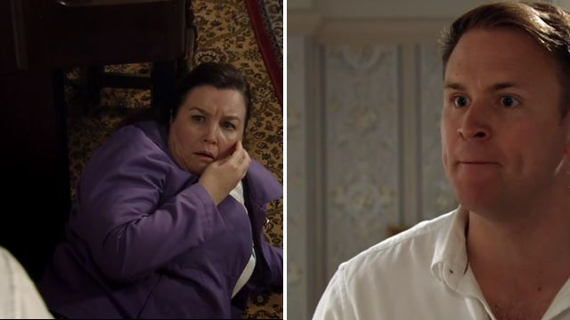 Jude and Mary in Coronation Street
