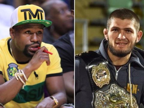 Floyd Mayweather v Khabib Nurmagomedov has to be a 'real fight' in UFC, says Dana White