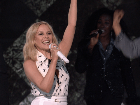 X Factor viewers unimpressed with Kylie Minogue's 'awful' performance