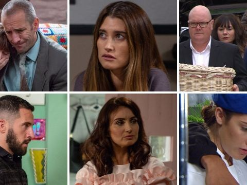 Emmerdale spoilers: 30 new pictures reveal Joe Tate death latest and funeral trauma for Chas