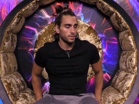 Emotional Big Brother housemates burst into tears as they're told Lewis F has been kicked out over 'Auschwitz' comment