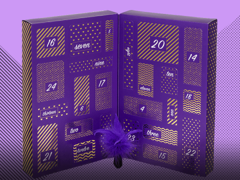 Tired of chocolate? Lovehoney's adult advent calendar is full of sexy goodies