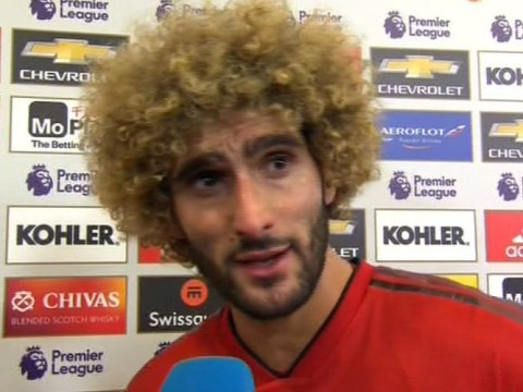 Marouane Fellaini reveals what Jose Mourinho told Manchester United players before comeback against Newcastle