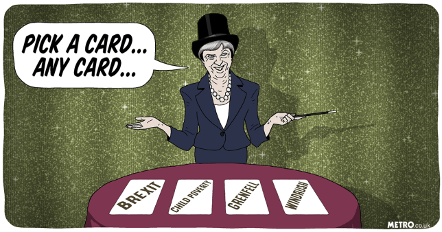 The misdirection tricks being used by politicians must stop fooling voters soon Picture: Dave Anderson Metro Illustration