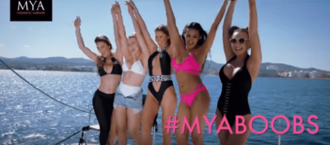 Breast enhancement ads shown during Love Island banned for being 'harmful'