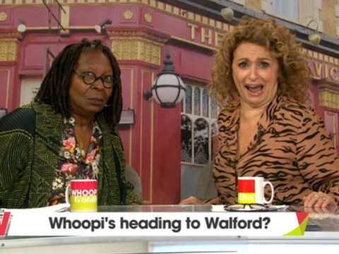 Eastenders superfan Whoopi Goldberg gets invited to Albert Square by Ian Beale himself