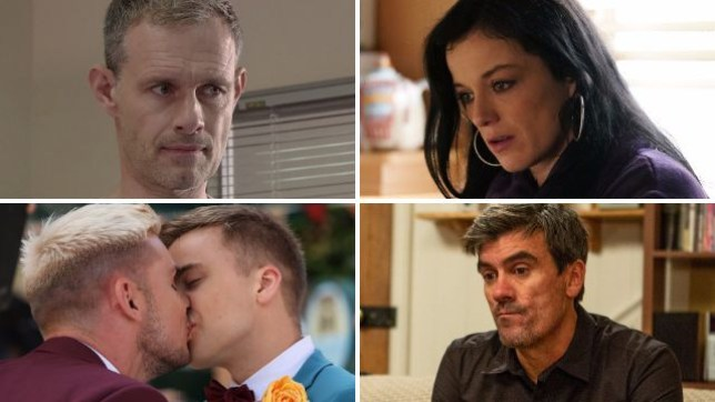 Soap spoilers for Nick in Coronation Street, Hayley in EastEnders, Ste and Harry in Hollyoaks and Cain in Emmerdale
