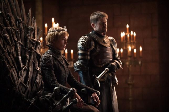Television programme : Game Of Thrones Season 07 First Look Nikolaj Coster-Waldau as Jaime Lannister Lena Headey as Cersei Lannister ??2017 Helen Sloan/HBO