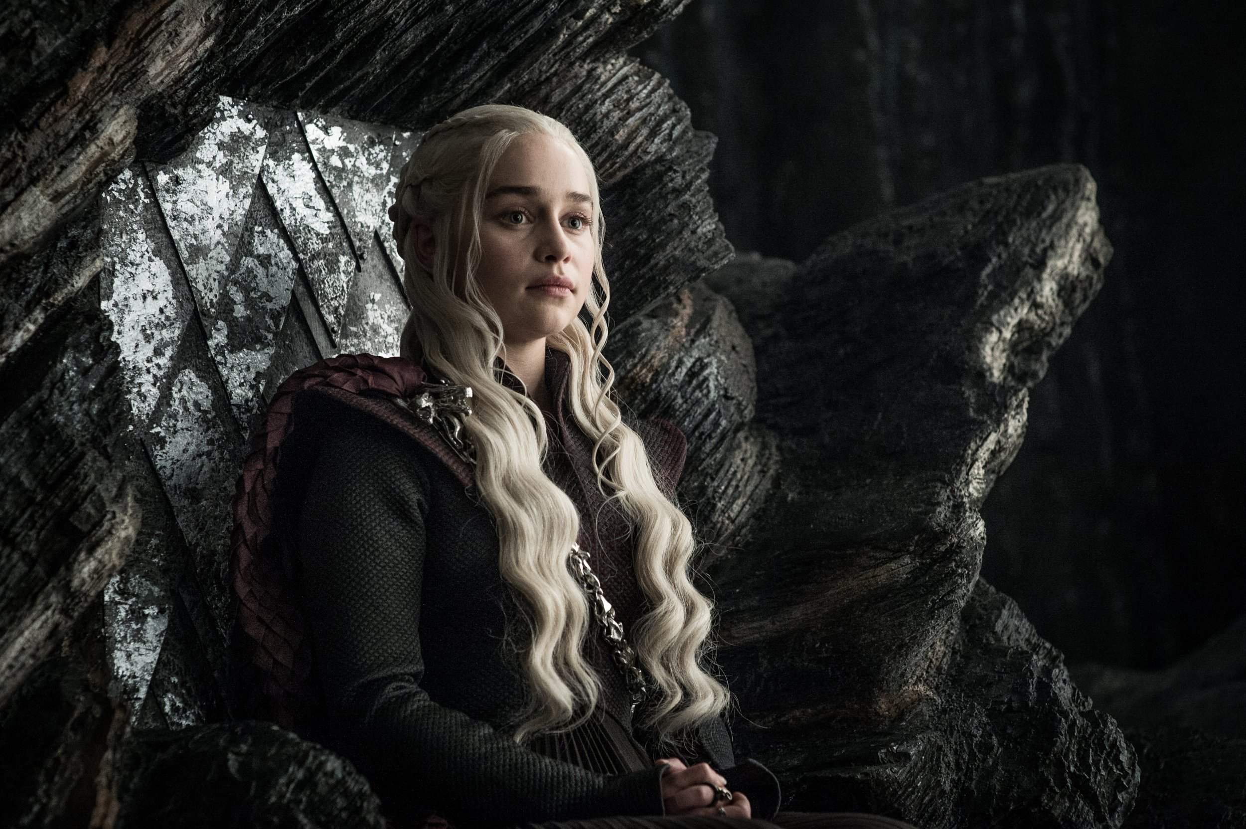Television programme : Game of thrones. Emilia Clarke as Daenerys