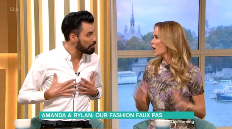 Rylan Clark-Neal reveals backstage horror on X Factor live shows: 'I lost both my nipples that day'