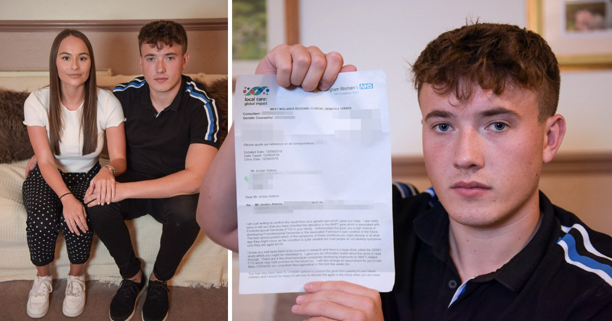 Young man discovers he has dementia at just 23 years old