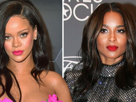 Rihanna sings her heart out to Ciara's Goodies in karaoke session ending old feud with singer