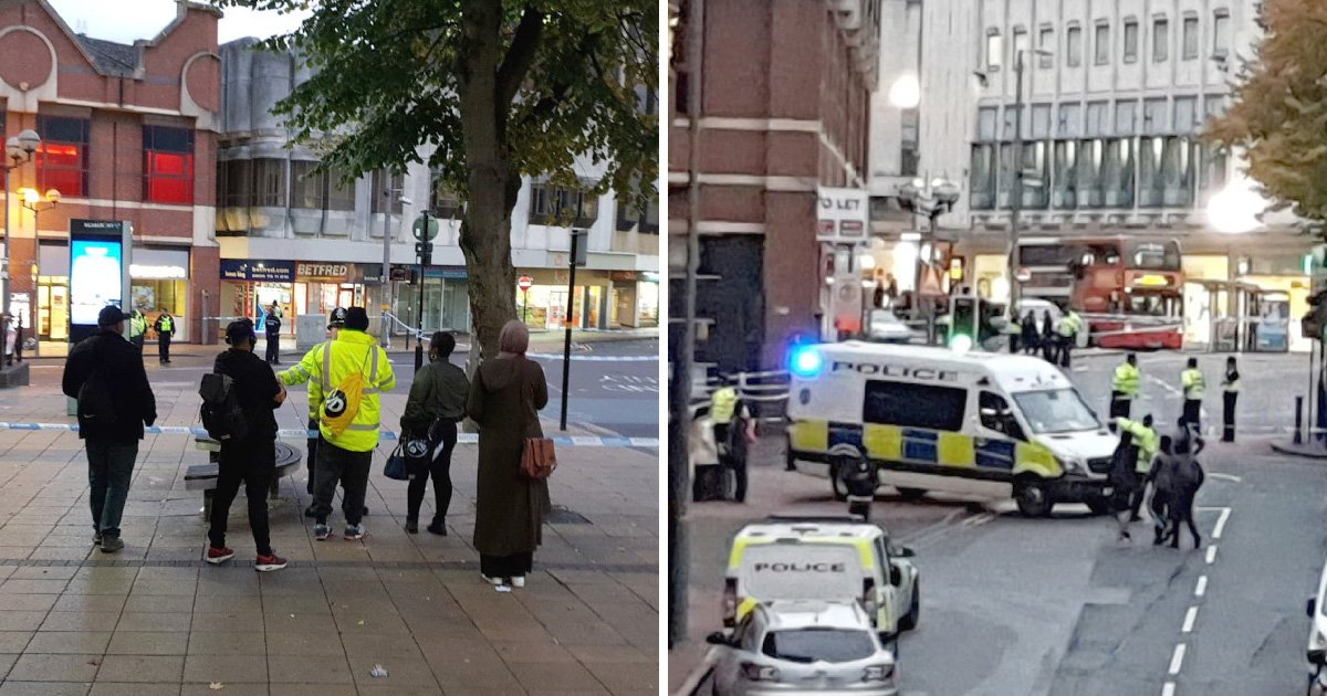 Three people hospitalised after triple stabbing in Birmingham city centre