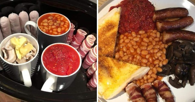 Woman shares hack for cooking a full English breakfast ...