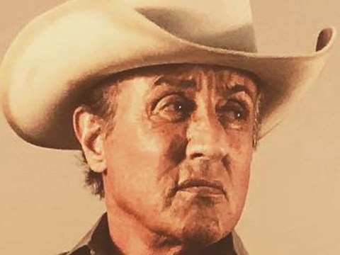 Sylvester Stallone channels his inner cowboy as he reveals first look at Rambo V