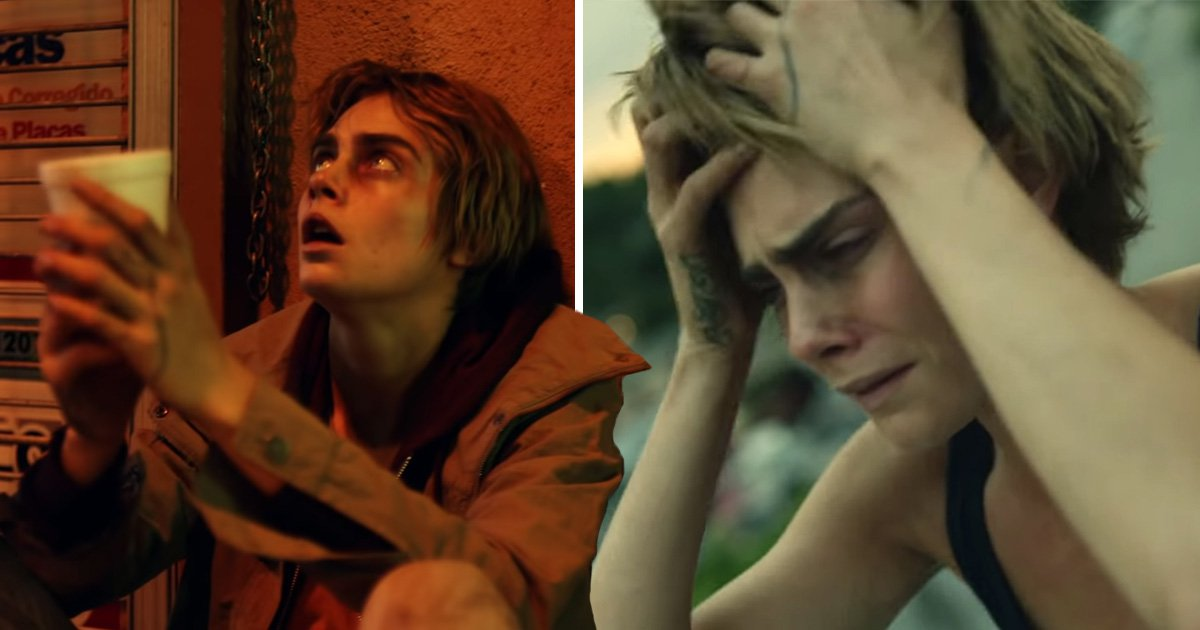 Cara Delevingne is unrecognisable as 'homeless drug addict' in music video