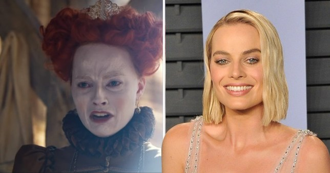 EXCL: Margot Robbie transformation in Mary Queen of Scots