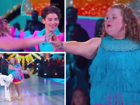 Honey Boo Boo shows off her salsa moves on Dancing with the Stars: Juniors after landing £100,000 payday
