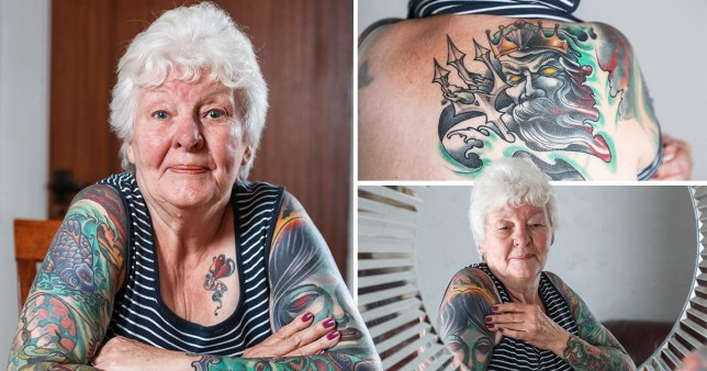 Great gran spends £2000 covering her body in tattoos | Metro News