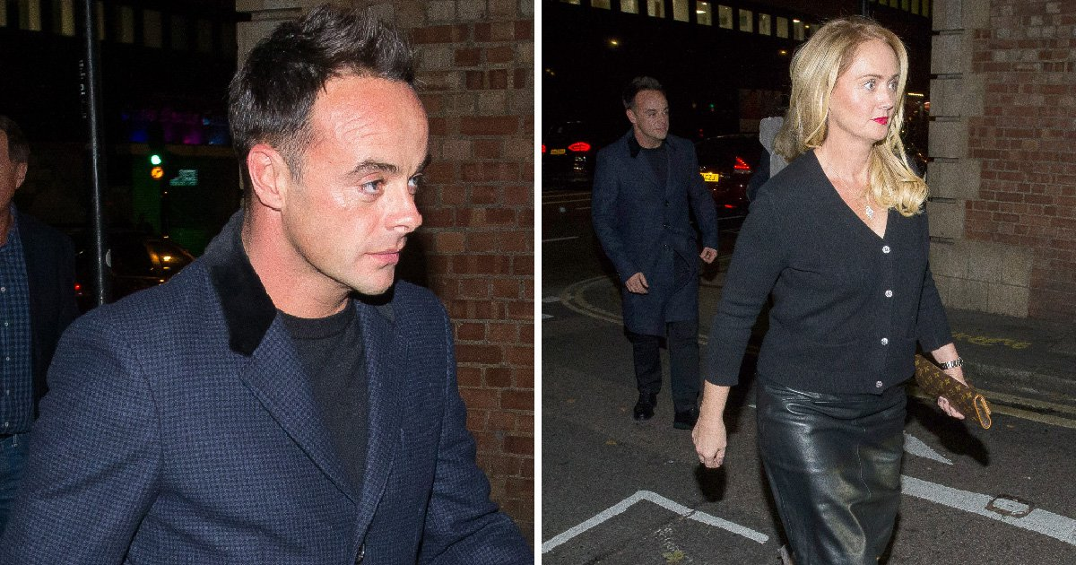 Ant McPartlin treats girlfriend Anne-Marie Corbett to theatre trip with his mum after celebrating sobriety